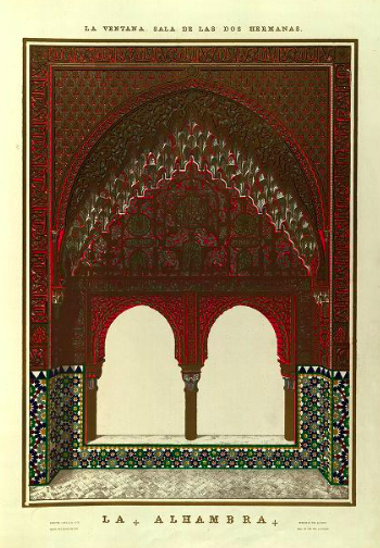 picture of moorish arches